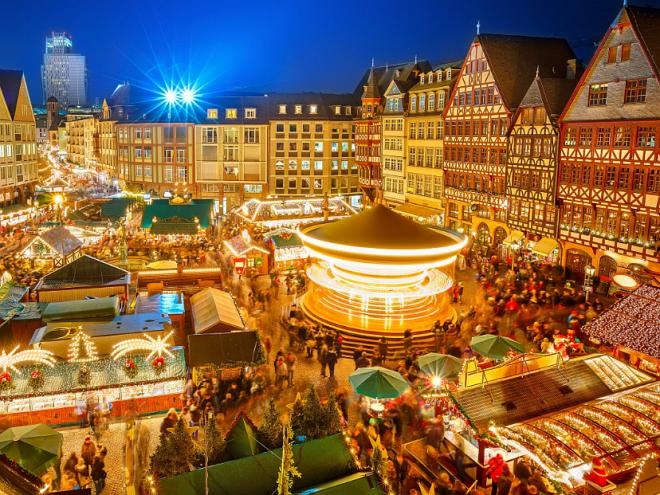 В Европу на праздники